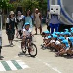 交通安全 ブルー2